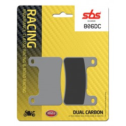 Front brake pads SBS Suzuki GSX-R 750  2006 - 2010 type DC