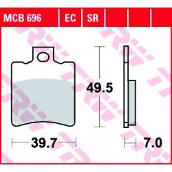 Front brake pads TRW / Lucas Piaggio SKR 150  1994 -  type EC