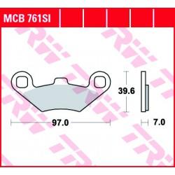 Front brake pads TRW / Lucas Polaris  700 Sportsman EFI, MV 2005 - 2007 type SI