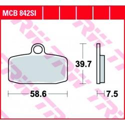 Front brake pads TRW / Lucas Husqvarna TC 85  2014 -  type SI