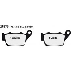 Rear brake pads Nissin BMW S 1000 RR HP4 2013 - 2014 type ST