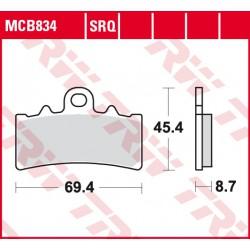 Front brake pads TRW / Lucas BMW G 310 R 2016 -  type SV