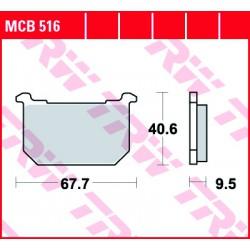 Front brake pads TRW / Lucas Kawasaki Z 440 LTD 1982 -