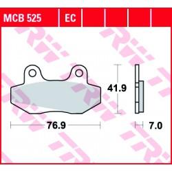 Front brake pads TRW / Lucas MUZ MZ 125 Mantizz S 2007 -