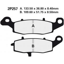 Front brake pads Nissin Suzuki DL 1000 V-Strom Right 2002 - 2013 type NS