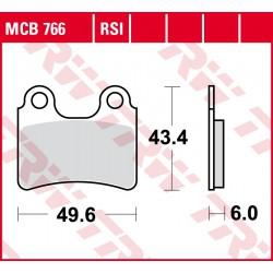 Front brake pads TRW / Lucas Beta  80 Rev 2008 -