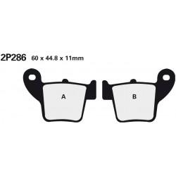 Rear brake pads Nissin Honda CRF 150 R 2007 -  type ST