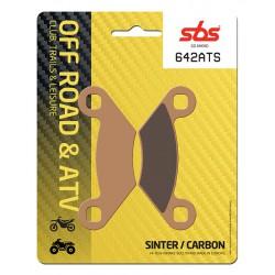 Front brake pads SBS Polaris  325 Xpedition 2002 směs ATS