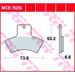 Rear brake pads TRW / Lucas Polaris  325 Magnum 2x4,4x4 2000 - 2002 směs SI