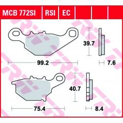 Rear brake pads TRW / Lucas Suzuki RM 85  2005 -  směs SI