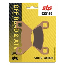 Front brake pads SBS Arctic Cat XC 450  2011 - 2014 směs ATS