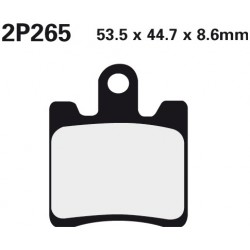 Front brake pads Nissin Yamaha FJR 1300 A 2013 -  type NS