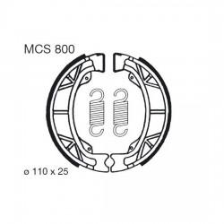 Rear brake pads TRW / Lucas Kymco KB 100 Scout 1995 -