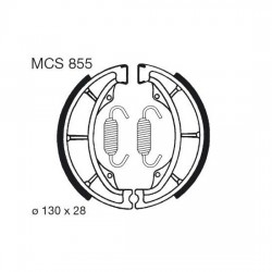 Rear brake pads TRW / Lucas Kawasaki KDX 175  1981 -
