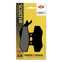 Front brake pads SBS Gilera FX 125 Runner SP (Grimeca cal.) 2000 - 2003 směs CT