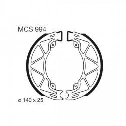 Rear brake pads TRW / Lucas Derbi  150 Sonar 2009 - 2010