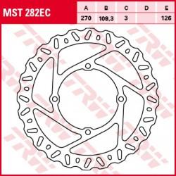 Front brake disc TRW / Lucas Kawasaki KX 250 F 2015 -
