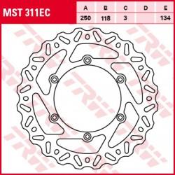 Front brake disc TRW / Lucas Suzuki RM 125  1988 - 1998