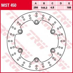 Front brake disc TRW / Lucas Honda SH 300 iABS 2007 - 2015