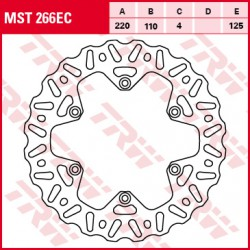 Rear brake disc TRW / Lucas Husaberg FE 600 SM 2000 -