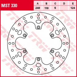Rear brake disc TRW / Lucas Benelli TreK 899  2007 - 2012