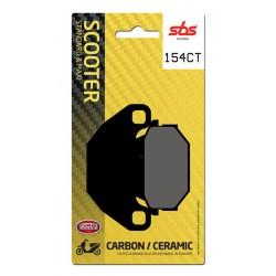 Front brake pads SBS Kymco  200 Agility 16+ 2014 - 2017 směs CT