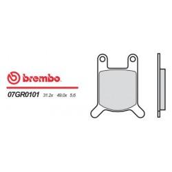 Front brake pads Brembo Sachs 80 LOTUS SA 1970 -  type 01