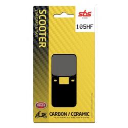Front brake pads SBS Gilera GSM 50 Supermotard 2001 - 2013 směs HF