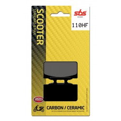 Front brake pads SBS Kymco  50 Zap (Disc Brake version) 1995 - 2000 směs HF