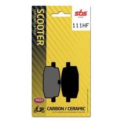 Front brake pads SBS Yamaha CR 90 Target 1991 - 1994 směs HF