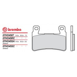 Front brake pads Brembo Honda 954 CBR RR 2002 - 2003 type 07