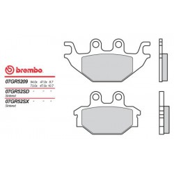 Front brake pads Brembo Arctic Cat 250 DVX 2006 - 2009 type 09