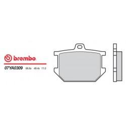 Front brake pads Brembo Yamaha 920 XV TR1 1981 -  type 09