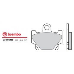 Front brake pads Brembo Yamaha 240 XV VIRAGO 1992 - 2006 type 11