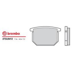 Front brake pads Brembo Suzuki 680 RG 1986 - 1987 type 12
