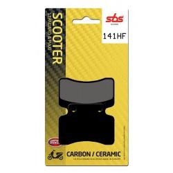 Front brake pads SBS Keeway  50 Flash Electric 2010 - 2012 směs HF