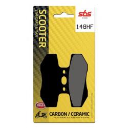 Front brake pads SBS Gas Gas SM 50 Rookie 2001 - 2002 směs HF