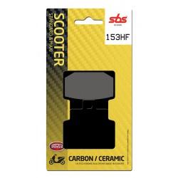 Front brake pads SBS Aprilia  100 Scarabeo Net 2010 - 2014 směs HF