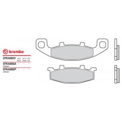 Front brake pads Brembo Hyosung 600 COMET 2002 - 2002 type 33