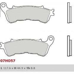 Front brake pads Brembo Honda 1237 VFR X CROSSTOURER 2016 -  type LA