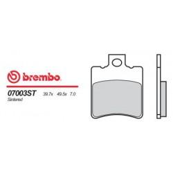 Front brake pads Brembo Benelli 100 K2 1999 - 2002 type OEM