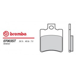 Front brake pads Brembo Benelli 150 ADIVA 2000 -  type OEM
