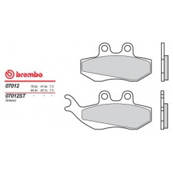 Front brake pads Brembo Malaguti 180 MADISON 2002 -  type OEM