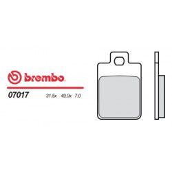 Front brake pads Brembo Piaggio 80 TYPHOON 1996 -  type OEM