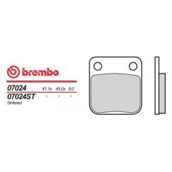 Front brake pads Brembo Daelim 100 DELFINO 1999 -  type OEM