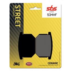 Front brake pads SBS Suzuki GV 1400 Cavalcade 1985 - 1986 směs HF
