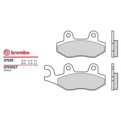 Front brake pads Brembo TGB 250 DYNASTY 2006 -  type OEM