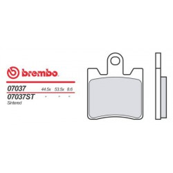 Front brake pads Brembo SYM 500 GT 2007 -  type OEM