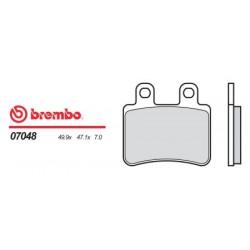Front brake pads Brembo Derbi 150 BOULEVARD 2004 -  type OEM