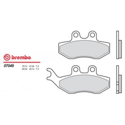 Front brake pads Brembo HM 50 CRE 2006 -  type OEM